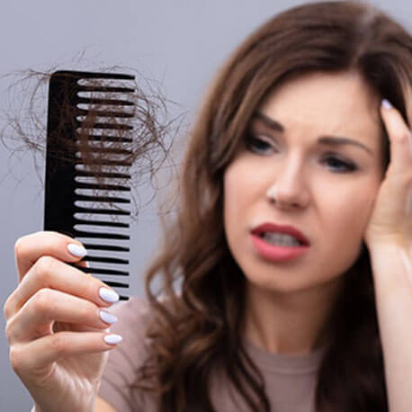 Cure Health Cure Hair-Fall By Naturopathy Treatment